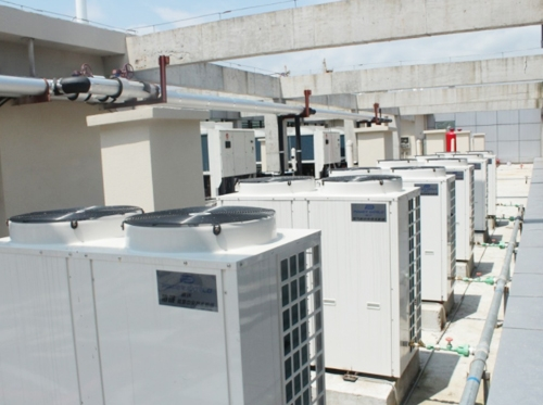 栖霞空气能热水工程